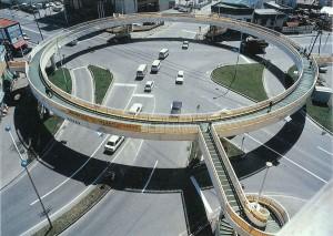 菊水横断歩道橋(昭和45年)